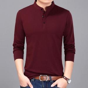 2020秋季纯色男士时尚针织衫