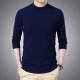2020秋季纯色半高领男士全羊毛针织衫