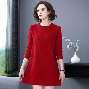 女士毛衣宽松外穿中长款秋冬装2020年新款洋气百搭打底衫内搭