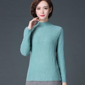 半高领毛衣女2020新款秋冬修身显瘦针织羊毛衫内搭洋气羊绒打底衫