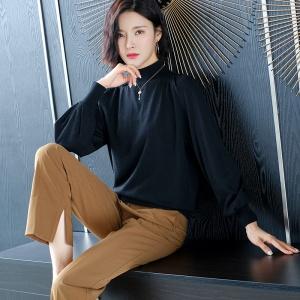 2020新款秋季女士时尚针织衫超细羊毛