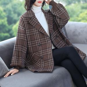 2020新款秋季女士时尚大衣外套