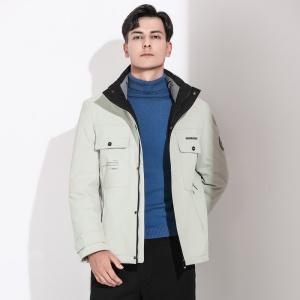 新款羽绒服男短款冬季加厚休闲中青年男士冬装外套
