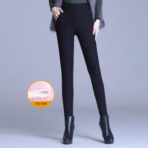 2020年冬季时尚女士新蚕丝裤
