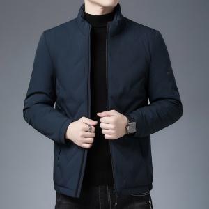 羽绒服男士清仓冬季高档休闲夹克时尚轻薄中青年外套男装