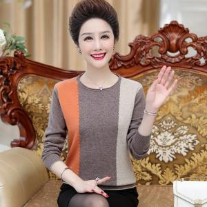 2020年冬季时尚女士新款全羊毛针织衫