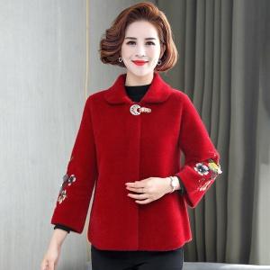 2020年秋冬新款中老年女时尚外套