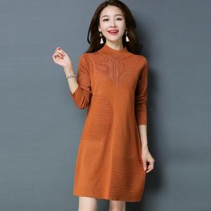 2020新款秋季女士时尚针织衫加绒裙