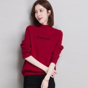 加绒毛衣女短款2020冬季新款一体绒上衣加厚保暖内搭半高领打底衫