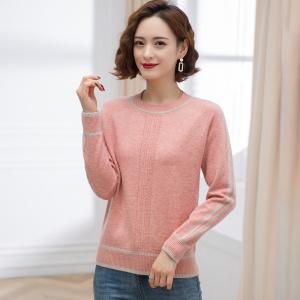 短款女士毛衣2021年新款女装修身显瘦针织打底衫时尚减龄上衣春秋